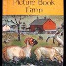 Picture Book Farm Hawkinson Pippenger Animals HC 1971