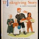 The Thanksgiving Story Dalgliesh Sewell Vintage HC 1954