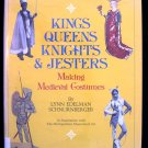 Kings Queens Knights and Jesters Medieval Costumes HCDJ