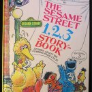 The Sesame Street 1,2,3 Storybook JIM HENSON Muppets HC