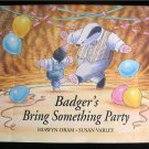 Badger's Bring Something Party Oram Varley HCDJ 1995