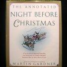 The Annotated Night Before Christmas Martin Gardner HC