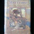 Mattimeo Redwall HCDJ Brian Jacques 1990 Warrior Mouse