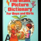 The Giant Picture Dictionary for Boys and Girls Scott