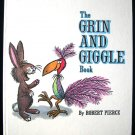 The Grin and Giggle Book Robert Pierce Giant Golden HC