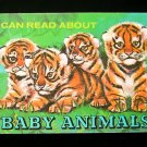 I Can Read About Baby Animals Record Vintage SC Warren