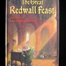 The Great Redwall Feast Brian Jacques Denise Mice HC