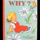 Why Plastic Book Doris Marion Henderson Vintage Creator