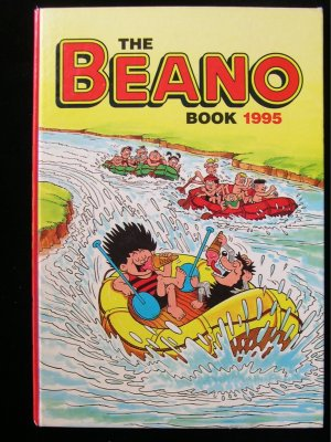The Beano Book 1995 Comic Strip Denace the Menace HC