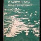 Depositional Environments in Carbonate Rocks Friedman