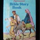 Egermeier's Bible Story Book Bedtime HCDJ Vintage 1969