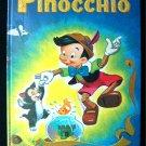 Walt Disney's Pinocchio Big Golden Book Real Boy 1979