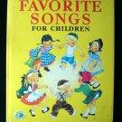 The Big Book of Favorite Songs for Children Schlesinger