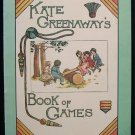 Kate Greenaway's Book of Games Recreation for Children