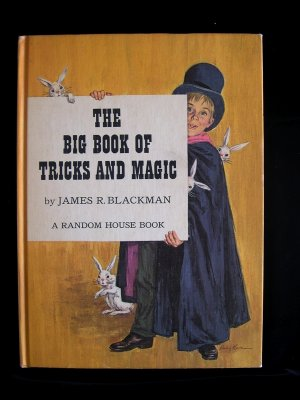 The Big Book of Tricks and Magic James Blackman Vintage