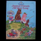 Animal Friends All Year Long Scarry Tibor Gergely HC