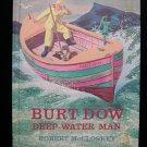 Burt Dow Deep Water Man Robert McCloskey 1964 2nd Print