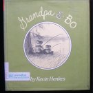 Grandpa and Bo Kevin Henkes Fishing Buddies HCDJ 1986