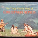 The Trapp Family Book of Christmas Songs Sound of Music