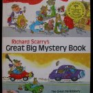 Richard Scarry's Great Big Mystery Book HC Scarry 1969