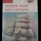 Clipper Ships and Captains Lyon Junior Library Vintage