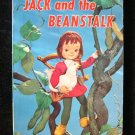 Jack and the Beanstalk LIving Story Book Vintage Puppet