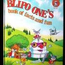 Blipo One's Book of Facts and Fun David Gantz 1983 HC