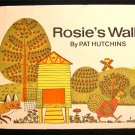 Rosie's Walk Pat Hutchins Chicken Fox Vintage HC 1968