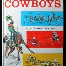 The Book of Cowboys Holling Clancy Holling Vintage 1962