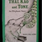 Thai Kao and Tone Elephant Tony Palazzo Vintage HC 1966