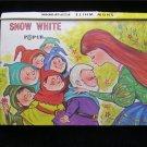 Snow White Pop Up Book Modern Promotions Vintage HC