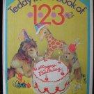 Teddy Bear's Book of 123 Wright Swart Giacomini Vintage