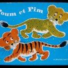Poum et Pim Fernand Nathan Lion Tiger Vintage French HC