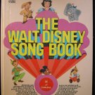 The Walt Disney Song Book Giant Golden Pinocchio Bambi