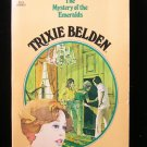 The Mystery of the Emeralds Trixie Belden Kenny #14 SC