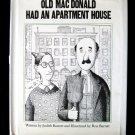Old MacDonald Had an Apartment House Barrett 1st ED HC