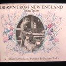 Drawn From New England Tasha Tudor Vintage HCDJ 1979