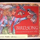 Birdsong Gail Haley HCDJ 1984 Jorinella the Birdcatcher