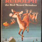 Rudolph the Red-Nosed Reindeer Christmas Scarry 1974 HC