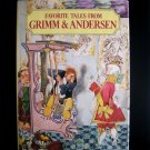 Favorite Tales from Grimm and Andersen Vintage Trnka HC