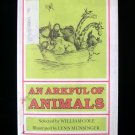 An Arkful of Animals William Cole Munsinger Poetry HCDJ
