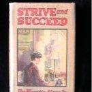 Strive and Succeed Horatio Alger Vintage HCDJ Conrad