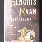 Genghis Khan Emperor of All Men Harold Lamb Vintage HC