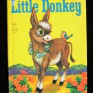 Little Donkey Jessica Broderick Tamburine Elf Book 1964