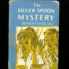 The Silver Spoon Mystery Dorothy Sterling Vintage 1958
