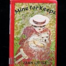 Mine for Keeps Jean Little Cerebral Palsy Vintage 1962