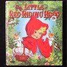 Little Red Riding Hood Zillah Lesko Vintage HC 1957