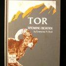 Tor Wyoming Bighorn Sheep Ernestine Byrd Vintage 1969