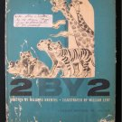 2 By 2 Noah and the Ark Krentel William Lent Vintage HC
