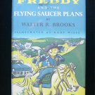 Freddy and the Flying Saucer Plans Brooks Pig HCDJ 1985